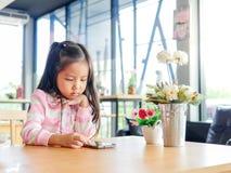 Портрет маленькой девочки Азии милой стоковая фотография
