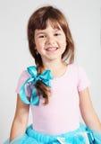 Портрет маленькой девочки усмехаясь Стоковая Фотография