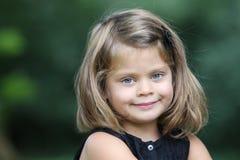 Портрет маленькой девочки Стоковые Изображения