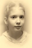 Портрет маленькой девочки Стоковое Фото