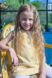 Портрет маленькой прелестной очаровательной девушки Стоковая Фотография RF