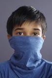портрет мальчика индийский маленький стоковое фото