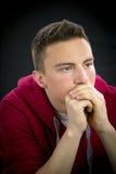 портрет мальчика подростковый стоковая фотография
