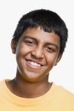 портрет мальчика подростковый Стоковые Фото