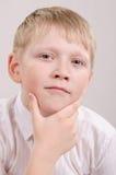 Портрет мальчика 12 Стоковая Фотография RF