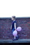 портрет милой девушки напольный Стоковые Фотографии RF