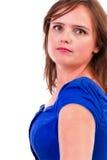 Портрет милой молодой женщины Стоковые Изображения RF