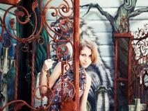 Портрет милой девушки Стоковая Фотография RF