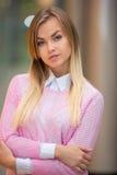Портрет милой девушки Стоковые Фото