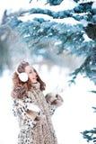 Портрет милой девушки redhead Стоковая Фотография RF