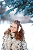 Портрет милой девушки redhead Стоковое Фото