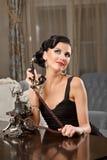 Портрет милой молодой женщины Стоковая Фотография RF
