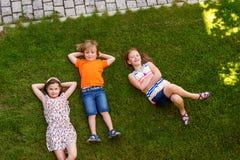 Портрет милые маленькие ребеята Стоковые Изображения RF