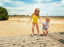 Портрет милые маленькие ребеята Стоковые Изображения