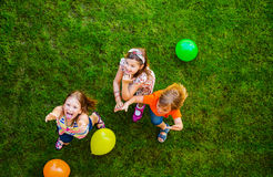 Портрет милые маленькие ребеята Стоковая Фотография