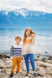 Портрет милых маленьких ребеят Стоковые Изображения RF