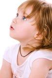 портрет младенца близкий счастливый вверх стоковое изображение rf