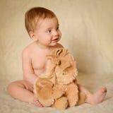 портрет младенца Стоковое Изображение RF