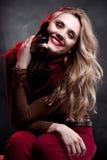 портрет модели состава стиля причёсок способа Стоковые Фотографии RF