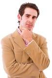 Портрет молодого бизнесмена Стоковые Фотографии RF