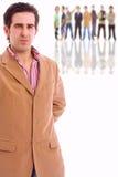 Портрет молодого бизнесмена стоковое фото