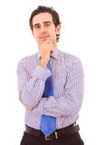 Портрет молодого бизнесмена Стоковое фото RF
