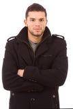 Портрет молодого вскользь человека Стоковые Фотографии RF