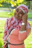 Портрет молодого индийского девочка-подростка Стоковое Изображение RF