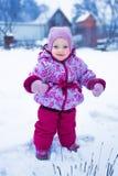 Портрет молодого красного-cheeked младенца Стоковые Изображения