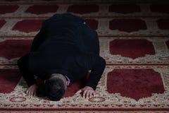 Портрет молодого мусульманского человека стоковая фотография rf