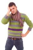 Портрет молодого человека стоковая фотография rf