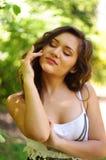 Портрет молодой женщины Стоковое Изображение