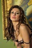 Портрет молодой красивейшей девушки Стоковые Изображения RF