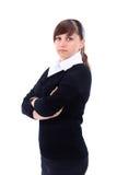 Портрет молодой привлекательной женщины дела. Стоковые Изображения RF