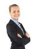 Портрет молодой привлекательной женщины дела. Стоковые Изображения