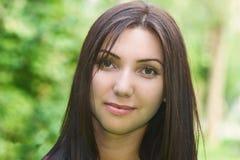 Портрет молодые красивейшие женщины Стоковое Изображение