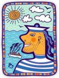 Портрет моряка Стоковая Фотография RF