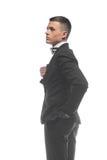 Портрет молодого бизнесмена изолированного на белой предпосылке Стоковые Фото
