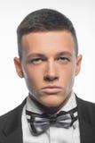 Портрет молодого бизнесмена изолированного на белой предпосылке Стоковые Фотографии RF