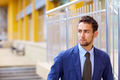 Портрет молодого бизнесмена Стоковая Фотография RF