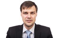 Портрет молодого красивого изолированного бизнесмена Стоковые Фотографии RF