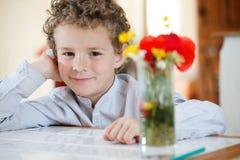 Портрет молодого мальчика Стоковое фото RF