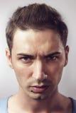 Портрет молодого мужчины битника Стоковые Изображения RF