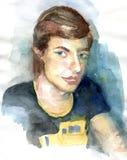 Портрет молодого человека Стоковые Изображения