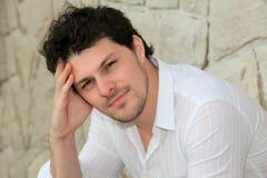 Портрет молодого человека Стоковые Изображения RF