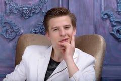 Портрет молодого человека стоковое фото