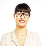 Портрет молодой бизнес-леди стоковые фотографии rf