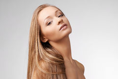 Портрет молодой блондинкы Стоковые Изображения RF