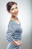 Портрет молодой женщины Женская модель Стоковые Изображения RF