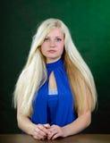 Портрет молодой женщины. стоковые изображения